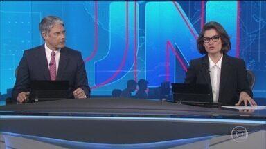 Jornal Nacional, Íntegra 10/06/2019 - As principais notícias do Brasil e do mundo, com apresentação de William Bonner e Renata Vasconcellos.