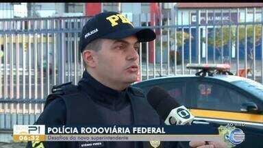 Stênio Pires é o novo superintendente da PRF - Stênio Pires é o novo superintendente da PRF