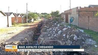 Ruas do bairro Padre Ernesto Sassida vão receber asfalto - Lançamento foi feito pela prefeitura e devem demorar 6 meses.