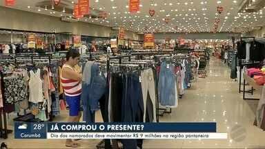 Dia dos namorados deve movimentar mais de R$ 9 milhões - Pesquisa mostra a intenção de compra dos consumidores em Corumbá e Ladário.