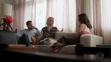 Lígia e Joaquim confrontam Lara - Lara garante que Rita está inventando mentiras para difamá-la