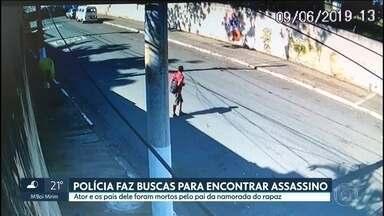 SP2 - Edição de terça-feira, 11/06/2019 - Polícia já esteve em 15 locais em busca do assassino do ator Rafael Miguel e dos pais dele. São Paulo tem um dos piores índices de vacinação contra a gripe no país. Sete em cada dez famílias da Grande São Paulo fazem compras em atacarejos.