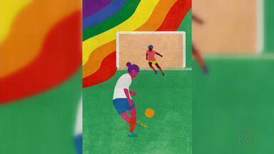 Designer de Juiz de Fora ganha prêmio por cartaz da Copa do Mundo - Roberta Monteiro venceu competição mundial na França. Candidatos de 13 países participaram