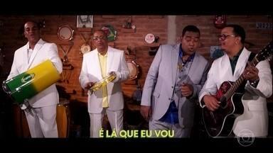 """""""A emoção vai começar"""": veja o clipe da música do Raça Negra para a Copa América - """"A emoção vai começar"""": veja o clipe da música do Raça Negra para a Copa América"""