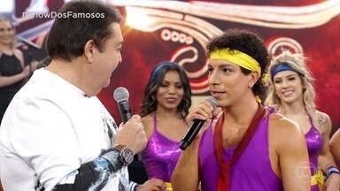 Di Ferrero recebe notas dos jurados - O cantor homenageou Cazuza com a música 'Pro Dia Nascer Feliz'