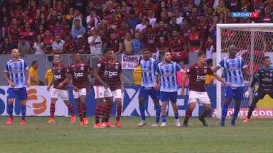 CSA 0 x 2 Flamengo
