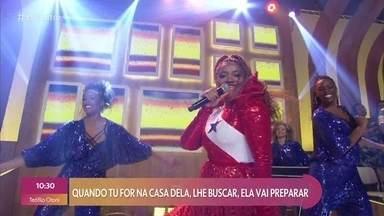 Gaby Amarantos canta 'Xirley' - Confira