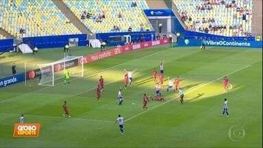 No Maracanã, Paraguai e Catar ficaram no empate por 2 a 2 - No Maracanã, Paraguai e Catar ficaram no empate por 2 a 2