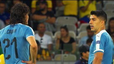 Com Cavani e Suárez, Uruguai mostra força contra o Equador na Copa América - Com Cavani e Suárez, Uruguai mostra força contra o Equador na Copa América