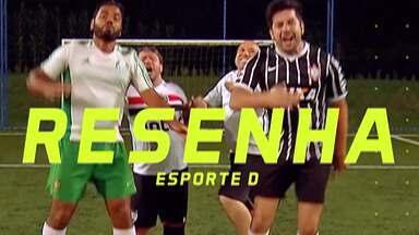 """Resenha 2019: Garotinhos comentam início da Copa América - De """"férias"""" do Brasileirão, turma segue torcendo pelo Brasil na competição."""