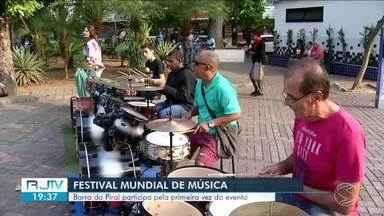 Barra do Piraí participa pela primeira do Festival Mundial de Música - Mais de 800 cidades em 120 países promovem o evento, que reún músicos, professores e o público em geral. Objetivo é aumentar o interesse musical da população.