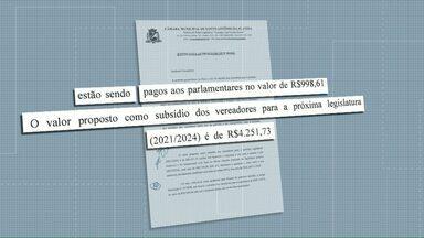 Vereadores de Santo Antônio da Platina propõem aumentar o salário do cargo - Na proposta, os valores atuais seriam multiplicados por quatro.