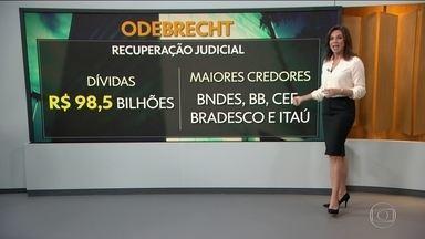 Odebrecht entra com maior pedido de recuperação judicial do país - Processo deve abranger R$ 51 bilhões de uma dívida total de R$ 98,5 bilhões.
