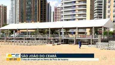 'São João do Ceará' vai animar o Aterro da Praia de Iracema - Vão ser três dias de festa.