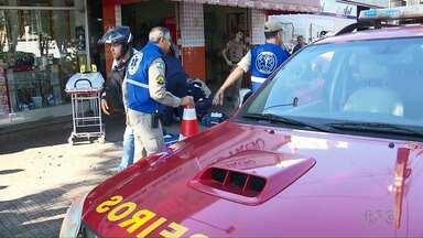Briga de trânsito termina com uma pessoa ferida em Maringá - Quem atirou foi um policial militar aposentado