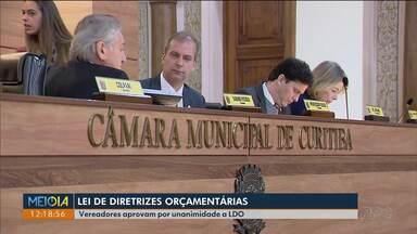 Vereadores aprovam Lei de Diretrizes Orçamentárias - LDO foi aprovada por unanimidade.