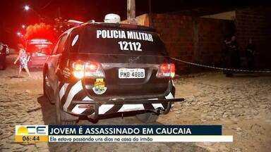 Halisson Ferreira traz as informações do plantão policial - O Bom Dia Ceará tem os detalhes das principais ocorrências policiais.