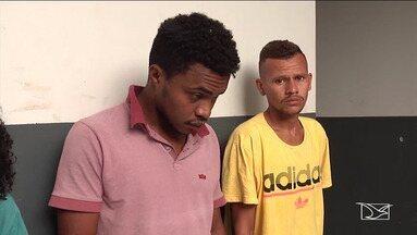 Presos suspeitos de roubar motocicletas em Codó - Segundo a polícia, eles agiam também em Caxias onde roubavam motos para cometer assaltos.