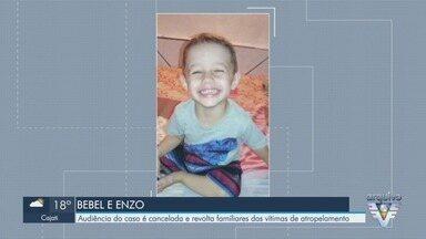 Audiência do caso Bebel e Enzo é adiada em Santos, SP - Tia e sobrinho morreram atropelados em 2017. Familiares se revoltaram com adiamento.
