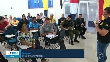 Órgãos de segurança reúnem para definir detalhes da 7ª Romaria da Segurança em Santarém - Na edição 2019 a romaria sairá da Capitania Fluvial de Santarém.