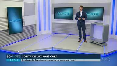 ANEEL aprova reajuste na conta de luz para tarifas da Copel - Em Guarapuava, os moradores dos distritos vão ter os valores reajustados.