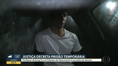 Polícia prende professor de kung fu suspeito de abuso de alunas - Pelo menos dez mulheres contaram à polícia que foram abusadas por Luiz Fabiano do Nascimento