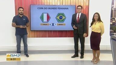 Comentário: análise dos jogos do Brasil na Copa do Mundo Feminina e Copa América - Silvio Lima, editor do globoesporte.com/am comenta os resultados