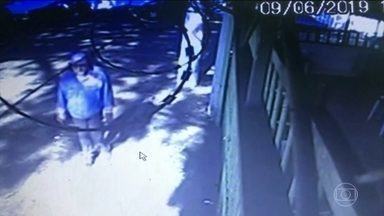 Polícia analisa imagens que mostram a fuga do homem que matou o ator Rafael e os pais dele - Paulo Cupertino Matias teve a prisão decretada pela Justiça de SP e está foragido desde 9 de junho.