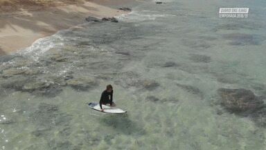 Manobras e Surfe Feminino