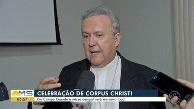 Missa campal de Corpus Christi será em novo local este ano em Campo Grande - Este ano, mais de 1 mil voluntários devem confeccionar 1,3 quilômetro de tapete.