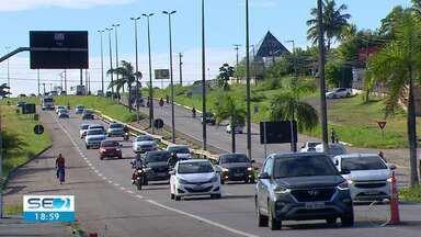 Com os feriados, aumenta a fiscalização nas rodovias federais e estaduais em Sergipe - PRF e BPRv montam fiscalização especial para o período.