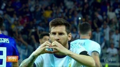 Argentina 1 x 1 Paraguai: hermanos passam sufoco, mas Messi garante empate - Argentina 1 x 1 Paraguai: hermanos passam sufoco, mas Messi garante empate
