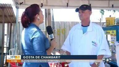 Chambari de R$ 10 é vendido no centro de Palmas; conheça a trajetória do vendedor - Chambari de R$ 10 é vendido no centro de Palmas; conheça a trajetória do vendedor