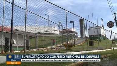 Audiência discute situação do Presídio de Joinville - Audiência discute situação do Presídio de Joinville