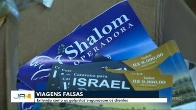 Como os golpistas enganavam os clientes com a venda pacotes falsos para Israel - Como os golpistas enganavam os clientes com a venda pacotes falsos para Israel