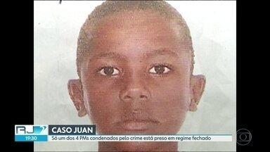 Apenas um dos 4 PMs condenados no caso Juan está preso em regime fechado - Justiça concluiu que menino foi morto por policiais militares.