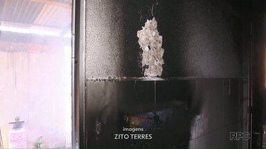 Homem coloca fogo na casa da ex-mulher em Santa Terezinha de Itaipu - Segundo a PM o suspeito não aceitava o fim do relacionamento.