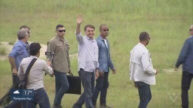 Presidente Jair Bolsonaro visita o Vale do Ribeira - Presidente visitou a família em Miracatu e Eldorado.