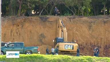Homem morre soterrado após desmoronamento em obra na Zona Oeste de Manaus - Caso ocorreu no início da tarde desta quinta-feira (20), no bairro Nova Esperança