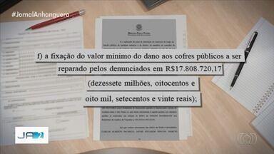 MPF denuncia Marconi Perillo por corrupção e lavagem de dinheiro - A ação é resultado da operação Cash Delivery, na qual o ex-governador de Goiás chegou a ser preso. Procurador denunciou mais quatro pessoas suspeitas de participar do esquema.