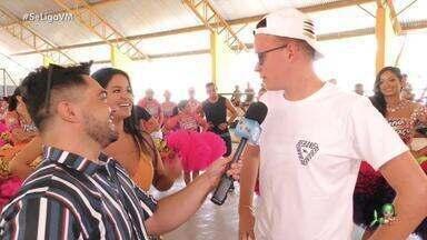 Daniel Viana leva banda A Loba para conhecer a quadrilha Junina Babaçu - Banda entra em ritmo do grupo que vai representar o Ceará no São João do Nordeste