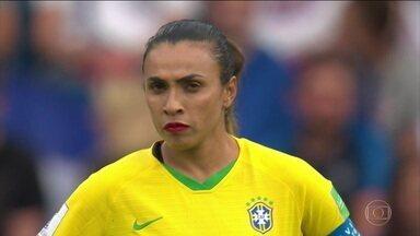 Brasil tem boa exibição, mas é eliminado pela França na Copa do Mundo de futebol feminino - Brasil tem boa exibição, mas é eliminado pela França na Copa do Mundo de futebol feminino