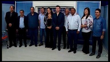 Representantes de municípios do Alto Paranaíba visitam a TV Integração em Araxá - Prefeitos de seis municípios participaram de reunião sobre a emissora e o trabalho desenvolvido pelo jornalismo local.