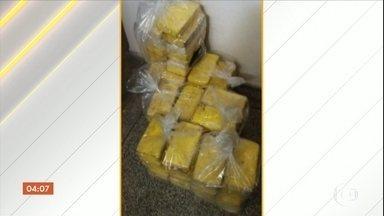 Delegado é preso por suspeita de furtar 101 kg de cocaína em Aquidauana (MS) - Droga havia sido apreendida durante uma operação e levada para a delegacia onde ele era o titular. Além do delegado, uma advogada e mais oito suspeitos foram presos.