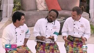Galera do 'Super Chef Celebridades' conta que tem treinado as receitas em casa - Xande de Pilares diz que descobriu um lado adormecido e saiu para comprar acessórios de cozinha nesta segunda