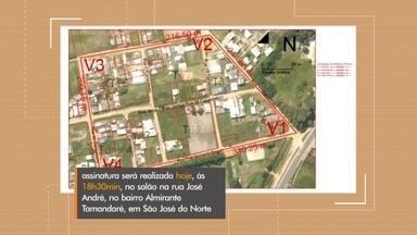 Começa regularização de terrenos em São José do Norte - Prefeitura realiza nesta terça-feira o primeiro mutirão para iniciar processo em bairros da cidade. Prefeita Fabiany Zogbi Roig explica.