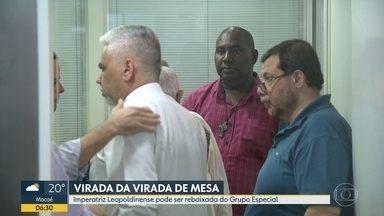 Três escolas de samba voltam atrás na decisão de livrar a Imperatriz do rebaixamento - União da Ilha do Governador, Unidos da Tijuca e Paraíso do Tuiuti voltaram atrás na decisão.