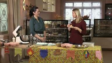 Assista ao bloco 03 do Caminhos do Campo do dia 30 de junho de 2019 - Aprenda a fazer bolo gelado de paçoca