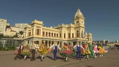 As tradições mais gostosas de Minas - Arraial de BH reúne arte, cultura e gastronomia.