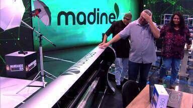 Pai e filho recebem investimento para sua fábrica no 'Mandando Bem' - Família do Paraná recebe investimento para sua fábrica de jeans